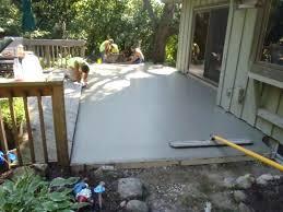 elegant pour concrete patio for new ideas pouring concrete patio and pouring a curved concrete patio