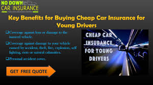 car insurance quotes for young drivers what you can do to get the best deal