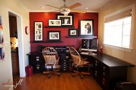 red home office. red home office before u0026 after phoenix scottsdale charleston