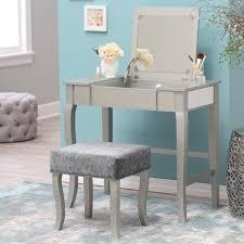 Makeup Vanity For Bedroom Bedroom Makeup Vanities Vanity Set Corner Stool Mirror Drawer