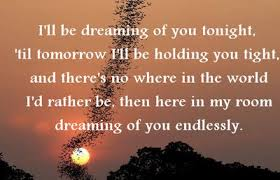 Dreaming Of You Love Quotes Best of Dream Sms Love Text Message