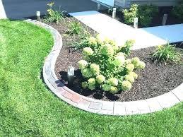 diy concrete edging lovable cement border landscape curb creations molds