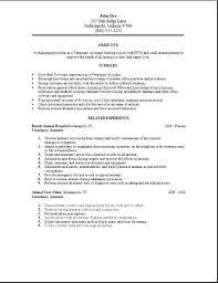 veterinary technician resume sample technician resume app thumbnail com veterinary  technician resume objective
