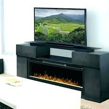 black fireplace entertainment center infrared electric in satin enterprise entertainme