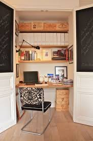 home office nook. closet office chalkboard doors or cork for inspiration boars officeoffice nookhome home nook