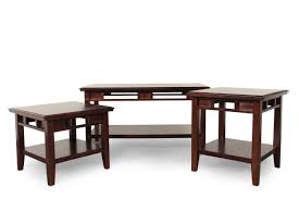 three piece contemporary coffee table set in dark brown mathis images three ash full