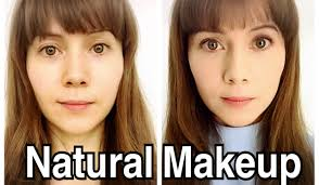 natural makeup effect three s in an get a makeover