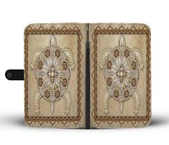 Native American Design Phone Cases Turble Symbol Native American Design Wallet Case