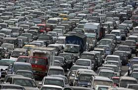 ways you could cause a traffic jam out even trying image via funny