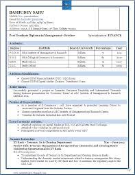 Best Resume Format For Freshers Abhi Pinterest Resume Format