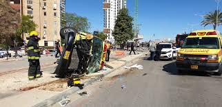 6 injured in Beersheba collision between ambulance, car and ...