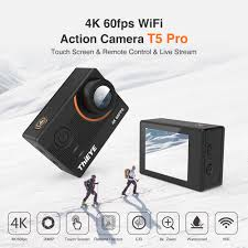 <b>ThiEYE T5 Pro</b> Real Ultra HD 4K 60fps Touch Screen WiFi Action ...