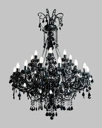 Kristalllüster Schwarz Tx840080024