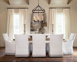 uncategorized custom dining chair slipcovers unbelievable cote and vine slip covered dining rooms of