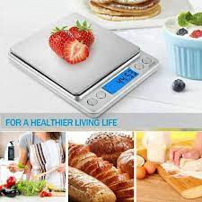 Amir Digital Kitchen Scal 0.05g to 500g Mini Pocket Jewelry Scale Cooking  Food for sale online