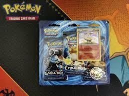 Pokémon XY Evolutions 3-er Blister