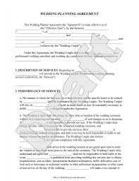 Free Download Sample Sample Contracts For Event Planners Google
