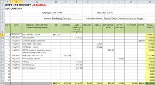 Expense Report Template Free Printable Expense Tracking Spreadsheet