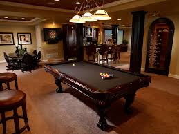 Wooden Games Room Furniture Classical Wooden Pool Table Design Ideas With Grey 71