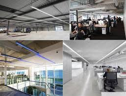 suspended office lighting. Suspended Office Lighting. Delighful 36w Led Architectural Linear Fixture Direct 4 Foot Pendant Lighting F