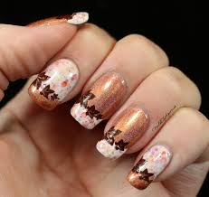 Pumpkin Spice Latte: French Tip Nail Art feat. KBShimmer | Bundle ...