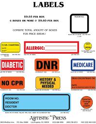 Label Flyer