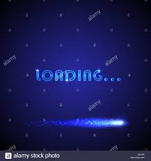 Vector background with bright progress loading bar. Can be used for ...