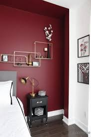 Pin by ida Harvey on chieknot in 2020   Feature wall bedroom, Red bedroom  walls, Bedroom wall colors