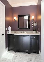 dark purple furniture. exellent purple pretty paint color like the dark wood light crisp counters and white  trimdoor with wood vanity  hall bathroom idea throughout dark purple furniture