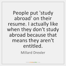 Study Abroad StoreMyPic Search Best How To Put Study Abroad On Resume