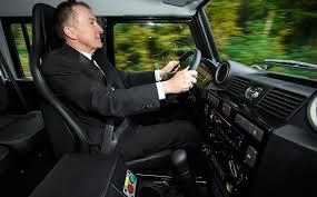 Land Rover Defender SVX James Bond Spectre Car Interior  G