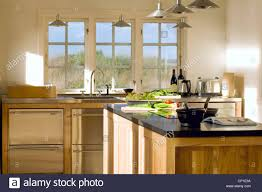 country style kitchen lighting. Plain Country Ceiling Lights Suspended Above Central Island Unit In Modern Country Style  Kitchen Throughout Country Style Kitchen Lighting C