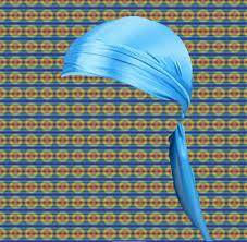 Baby Blue Silky Durag Wavy Baby Worldwide