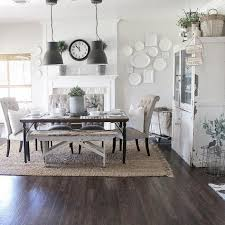 decor layered rugs under dining table i love when the light shines through my kitchen and dining room it just so peaceful and beautiful