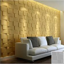 mdf textured 3d wall panels