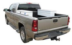 Pickup Side Mount Toolboxes | Diamond Plate, Powder Coat, Aluminum