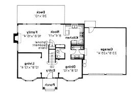 Colonial House Plans   Westport     Associated Designs    Colonial House Plan   Westport     st Floor Plan