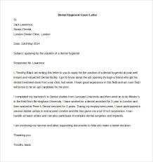 Word Template Cover Letter 5 Dental Hygienist Free Format
