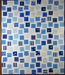 Blue and White Baby Quilt | Lindy J Quilts & Kentucky Blue White Baby Quilt - 3 Adamdwight.com