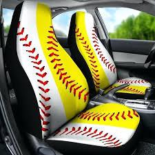 seat cover set for car baseball softball half half premium car seat covers set car seat