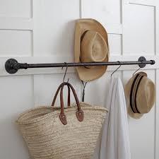 Pipe Coat Rack Plumbing Pipe Storage Bar Towel Bar Pot Rack Coat Rack 17