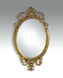 Gold Oval Mirror More Images Quinn Oval Antique Gold Wall Mirror