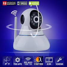 IP Camera Wifi Mini CCTV Camera 720P Baby Monitor Security P/T Micro ...