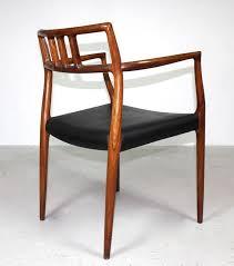 rosewood carver chair model 64 by niels moller for jl moller denmark
