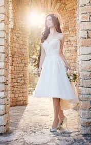high low plus size wedding dresses. d2189+ short plus size wedding dress with high-low skirt by essense of australia high low dresses r