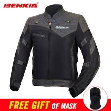 benkia summer mesh breathable motorcycle jacket retro style chaqueta motorbike motocross moto jacket riding protective gear 4bikes