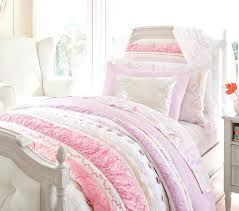 amazing bailey ruffle quilt pottery barn kids bedding sets for girls prepare king size bed headboards
