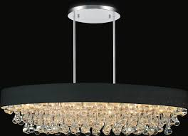 10 light drum shade chandelier with chrome finish