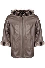 <b>Кожаная куртка MIO CALVINO</b> арт MIOAK10075W_CAPPUCCINO ...