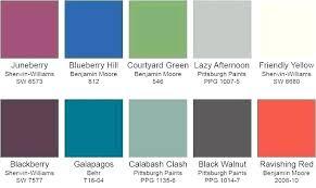 Benjamin Moore Paint Colors Chart Hyflask